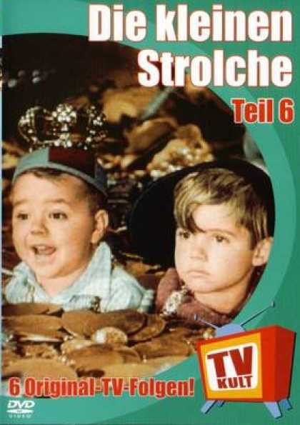 German DVDs - The Little Rascals Vol.6