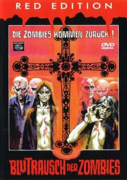 German DVDs - Vengeance Of The Zombies