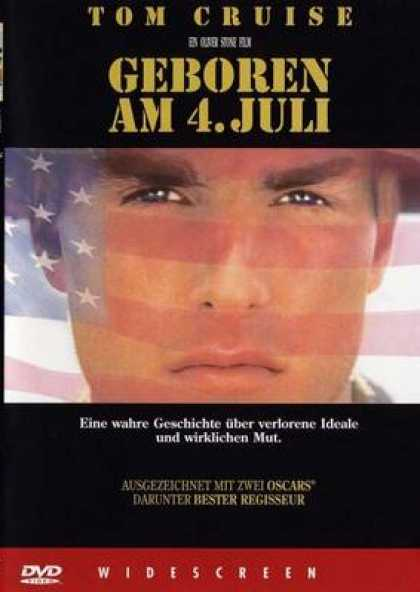 German DVDs - Born On The Fourth Of July