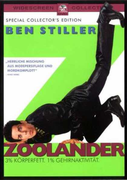 German DVDs - Zoolander