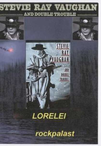 German DVDs - Stevie Ray Vaughn Lorelei Concert In Germany