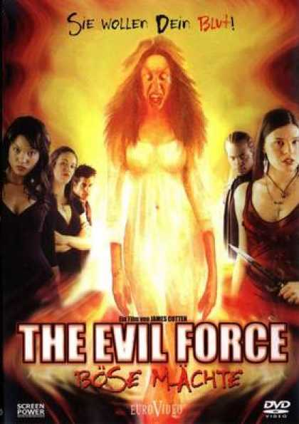 German DVDs - The Evil Force