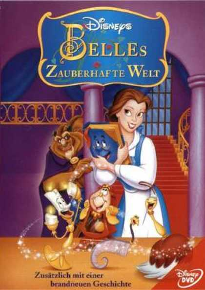 German DVDs - Beauty And The Beast Belles Magical World