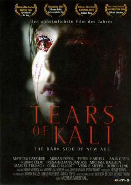 German DVDs - Tears Of Kali
