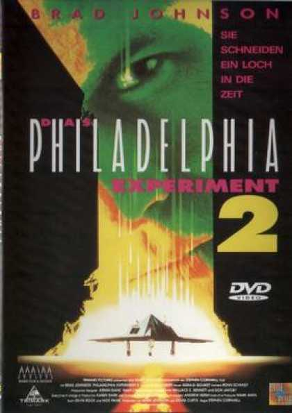 German DVDs - The Philadelphia Experiment 2