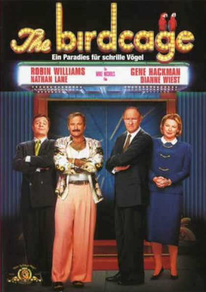 German DVDs - The Birdcage