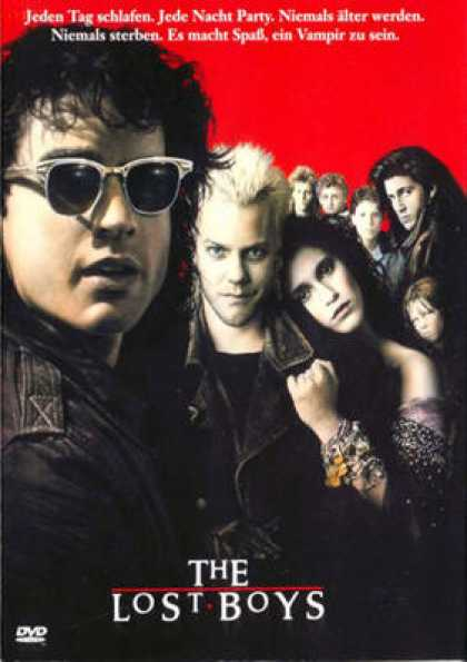 German DVDs - The Lost Boys