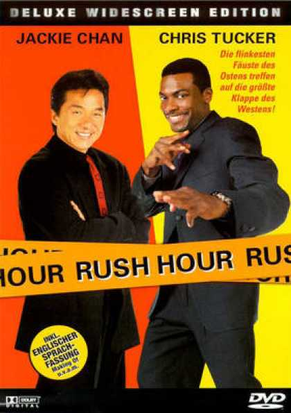 German DVDs - Rush Hour 1 (1998) GERMAN1