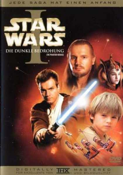 German DVDs - Star Wars Episode I