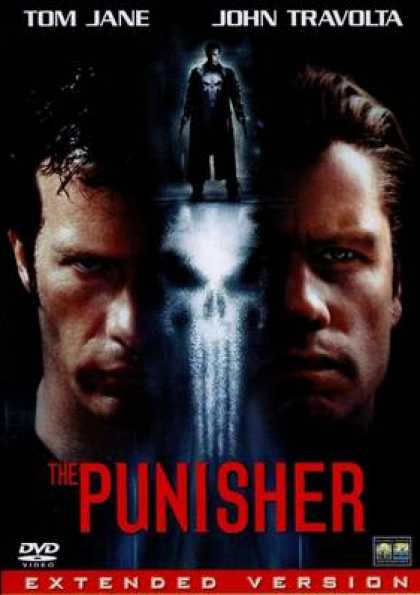 German DVDs - The Punisher 2004 Extended Version