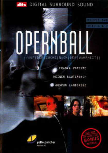 German DVDs - Opera Ball