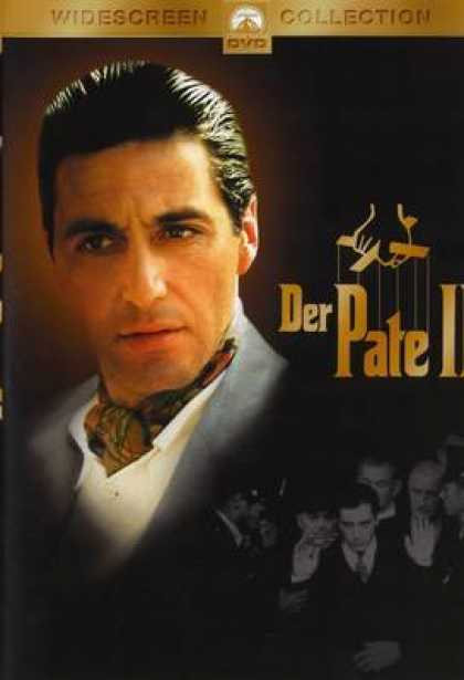German DVDs - The Godfather 2 Widescreen Collection