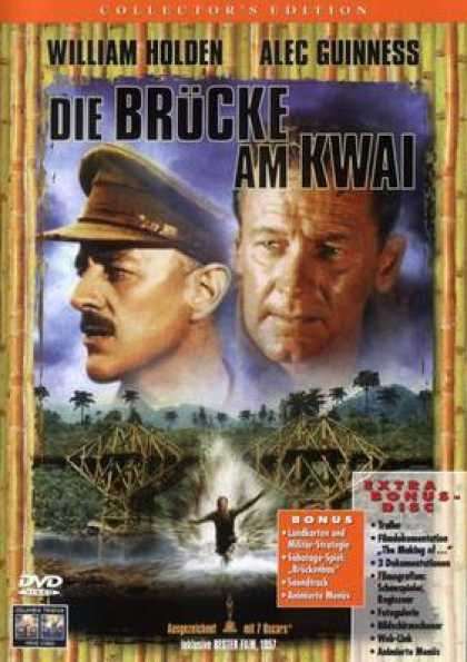 German DVDs - The Bridge On The River Kwai