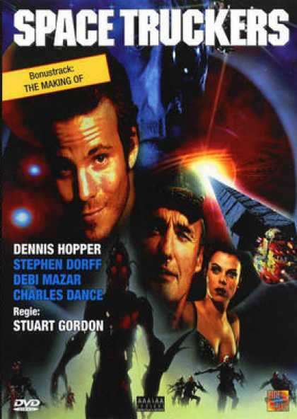 German DVDs - Space Truckers