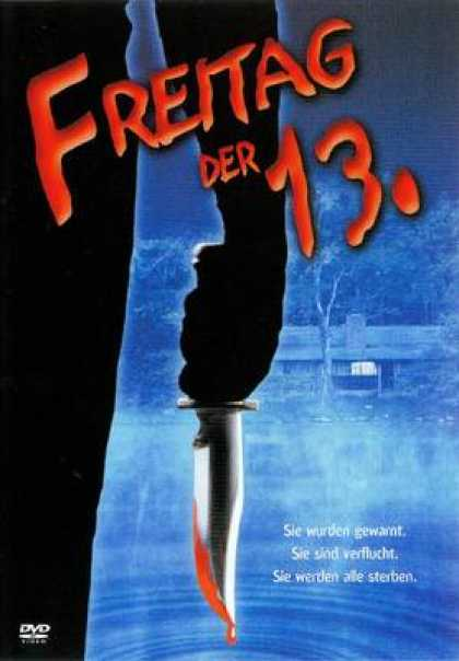 German DVDs - Friday The 13th