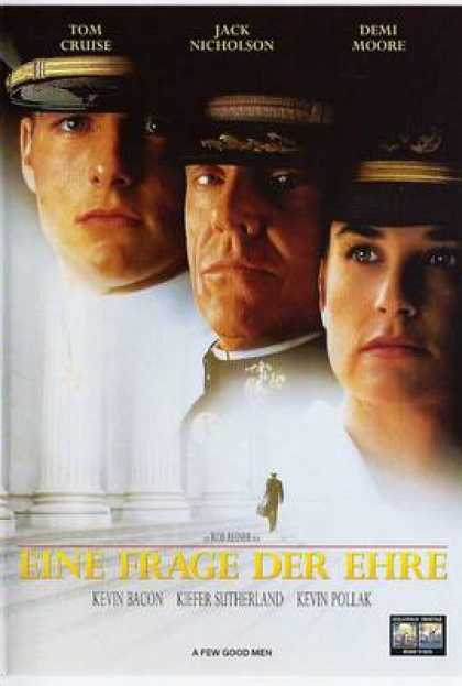 German DVDs - A Few Good Men