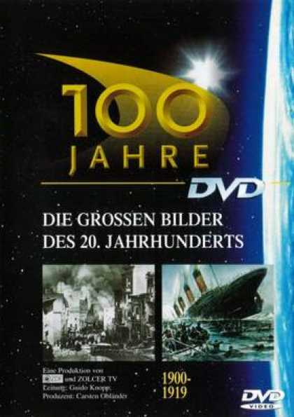 German DVDs - 100 Years 1900 - 1919