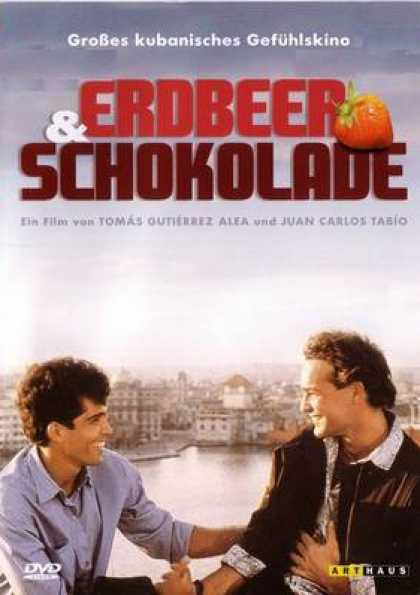 German DVDs - Strawberry And Chocolate