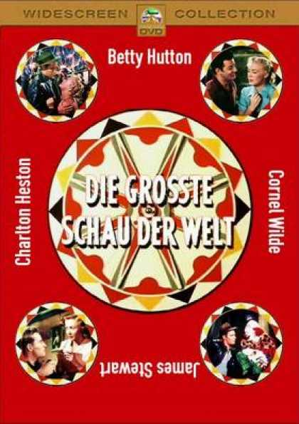 German DVDs - The Greatest Show On Earth