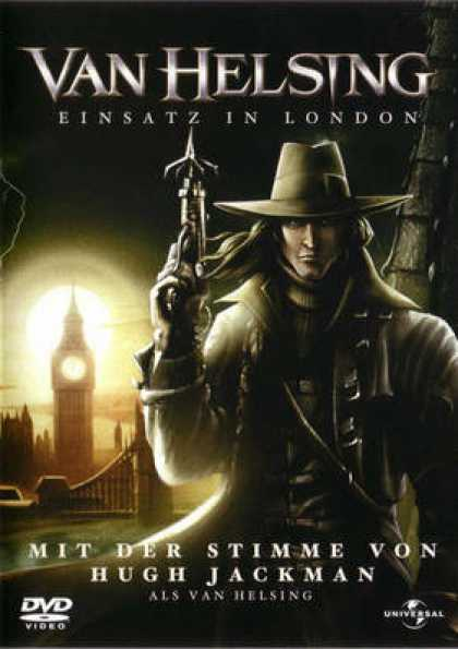 German DVDs - Van Helsing The London Assignment