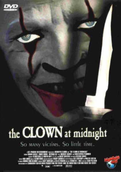 German DVDs - The Clown At Midnight