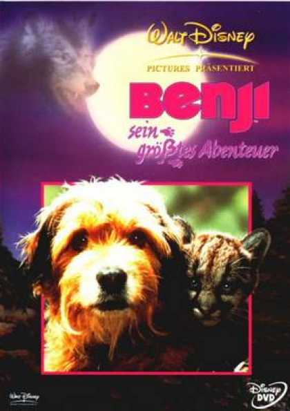 German DVDs - Benji The Hunted