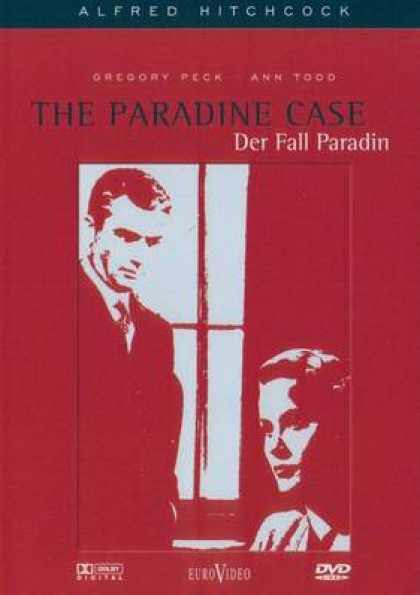 German DVDs - The Paradine Case