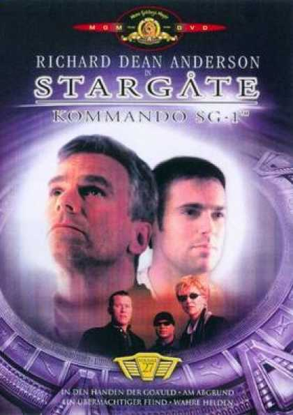 German DVDs - Stargate Commando Sg 1 Vol.27