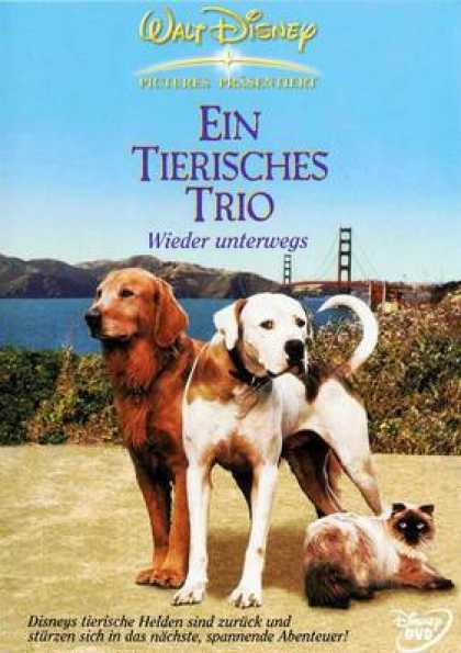 German DVDs - Homeward Bound 2