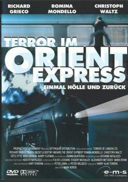 German DVDs - Terror In Orient Express