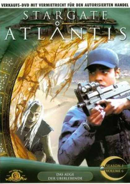 German DVDs - Stargate Atlantis Volume 6