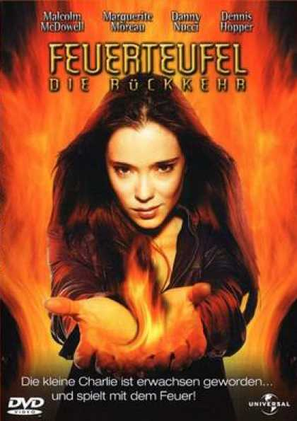 German DVDs - Firestarter 2