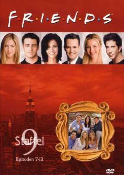 German DVDs - Friends Series 9 Episodes 7 - 12