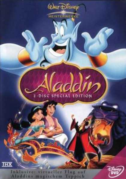 German DVDs - Aladdin 2