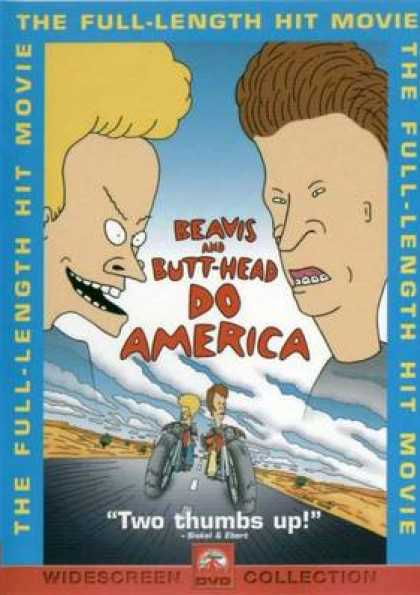 German DVDs - Beavis And Butthead Do America