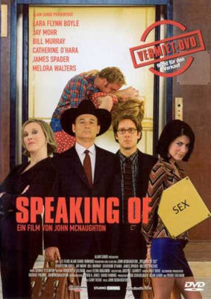 German DVDs - Speaking Of Sex