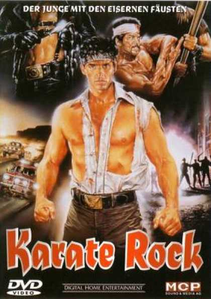 German DVDs - Karate Rock