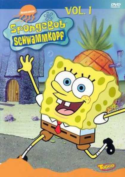 German DVDs - Spongebob Vol.1