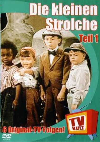 German DVDs - The Little Rascals Vol.1