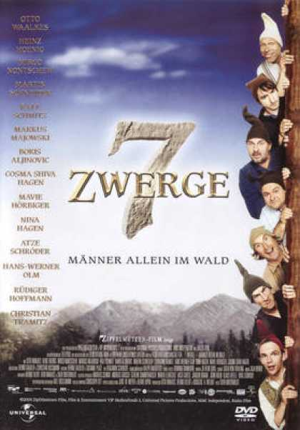 German DVDs - 7 Zwerge