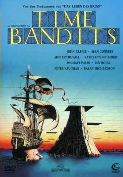 German DVDs - Time Bandits