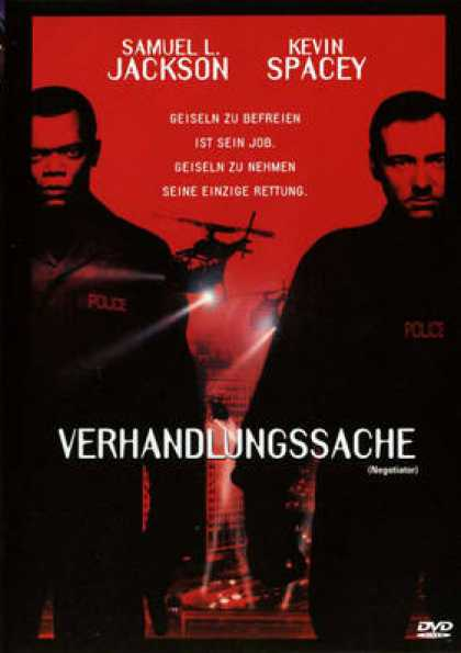 German DVDs - The Negotiator