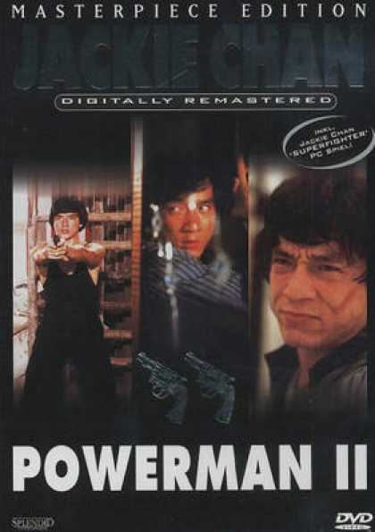 German DVDs - Powerman II 1985