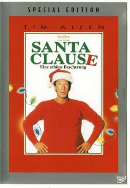 German DVDs - Santa Clause