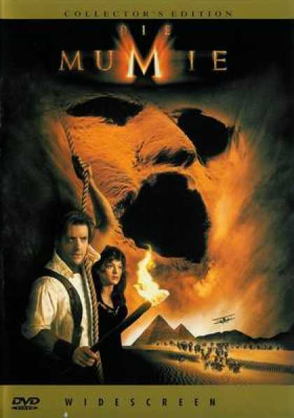 German DVDs - The Mummy