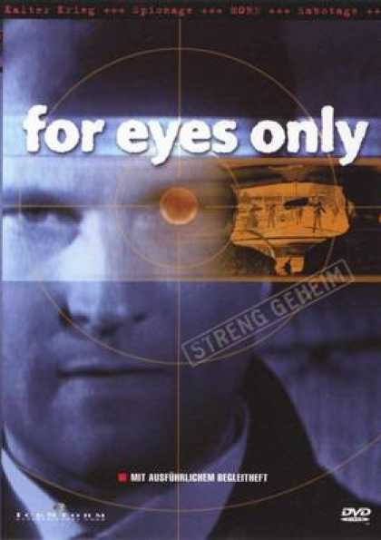 German DVDs - For Eyes Only