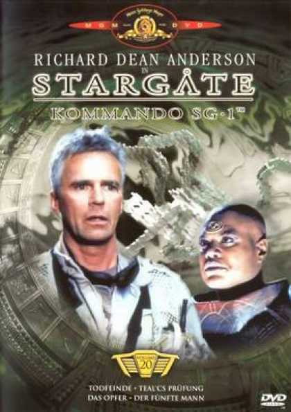 German DVDs - Stargate Commando Sg 1 Vol.20