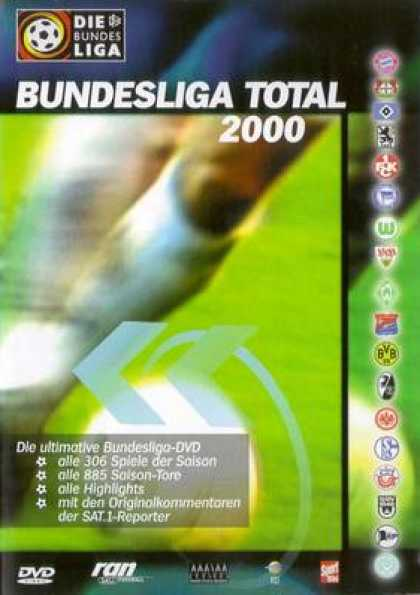 German DVDs - Bundesliga Total 2000