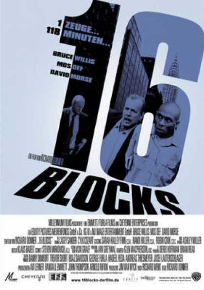 German DVDs - 16 Blocks