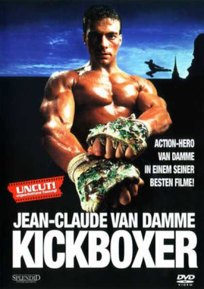 German DVDs - Kickboxer 1989